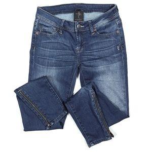 Genetic Denim The James Skinny Zipper Jeans